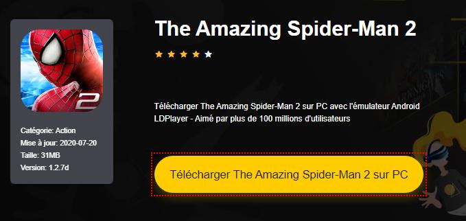 Installer The Amazing Spider-Man 2 sur PC
