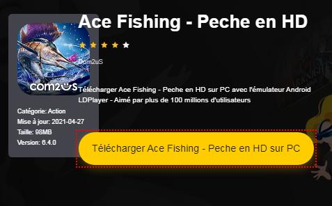 Installer Ace Fishing - Peche en HD sur PC