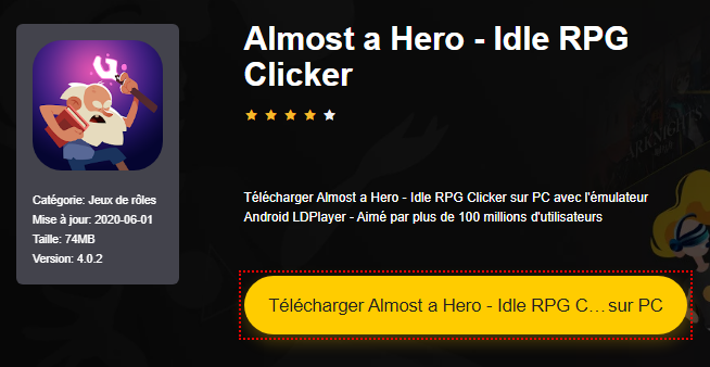 Installer Almost a Hero - Idle RPG Clicker sur PC