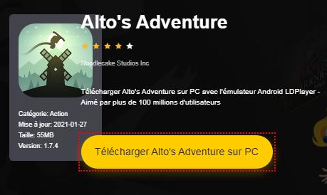 Installer Alto's Adventure sur PC