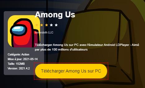 Installer Among Us sur PC
