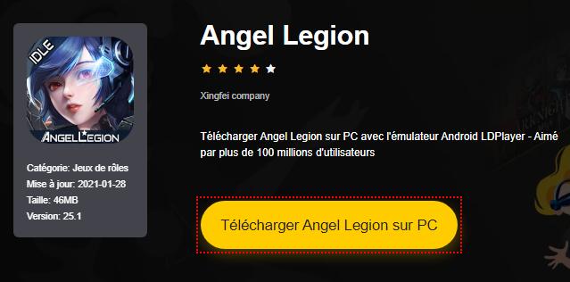 Installer Angel Legion sur PC
