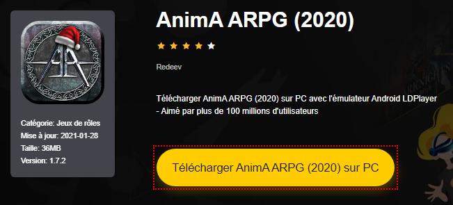 Installer AnimA ARPG (2020) sur PC