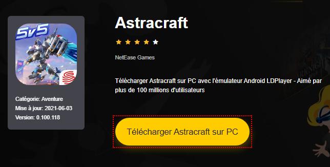 Installer Astracraft sur PC