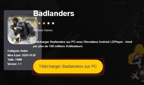 Installer Badlanders sur PC