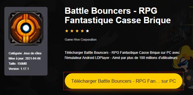 Installer Battle Bouncers - RPG Fantastique Casse Brique sur PC