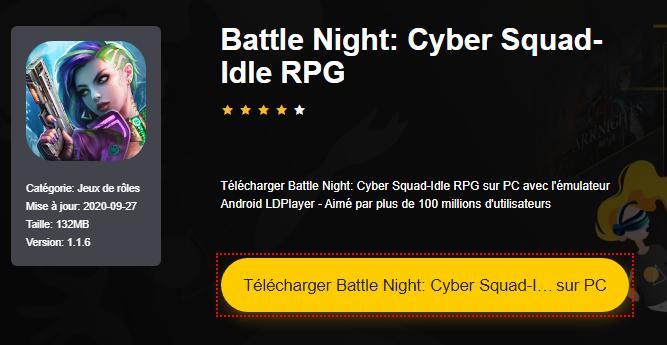 Installer Battle Night: Cyber Squad-Idle RPG sur PC