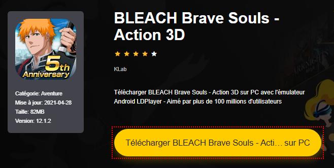 Installer BLEACH Brave Souls - Action 3D sur PC