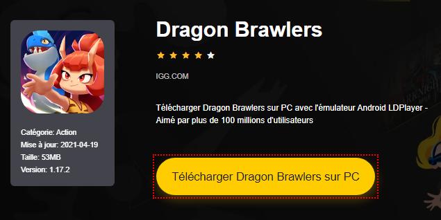 Installer Dragon Brawlers sur PC