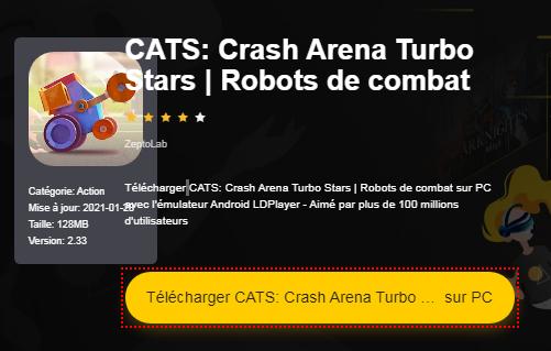Installer CATS: Crash Arena Turbo Stars | Robots de combat sur PC