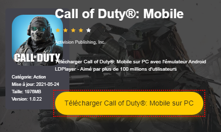 Installer Call of Duty®: Mobile sur PC