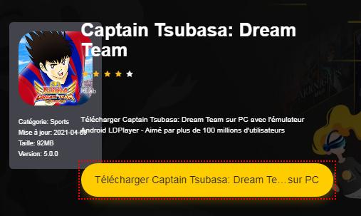 Installer Captain Tsubasa: Dream Team sur PC