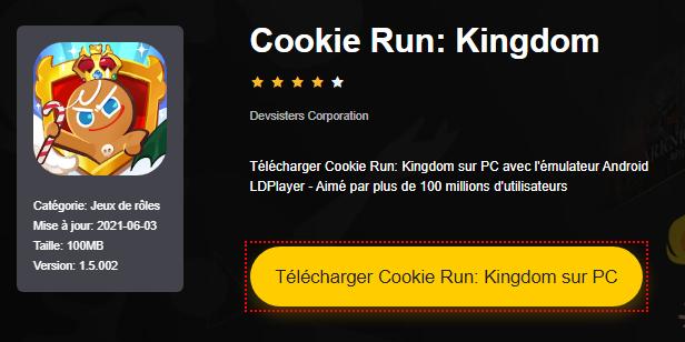 Installer Cookie Run: Kingdom sur PC