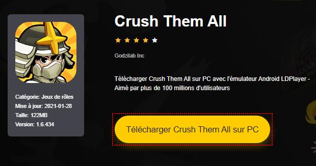 Installer Crush Them All sur PC