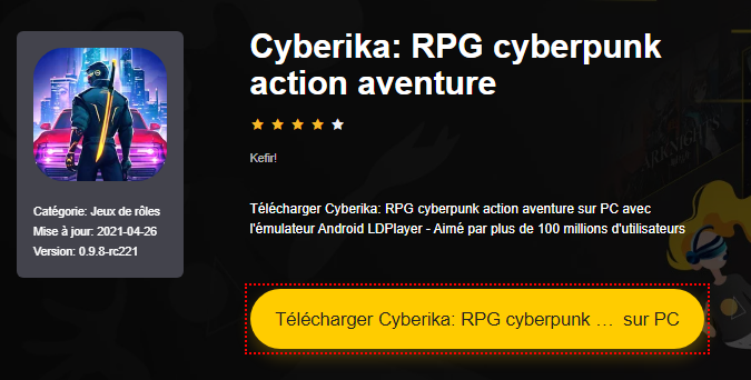 Installer Cyberika: RPG cyberpunk action aventure sur PC