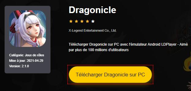 Installer Dragonicle sur PC