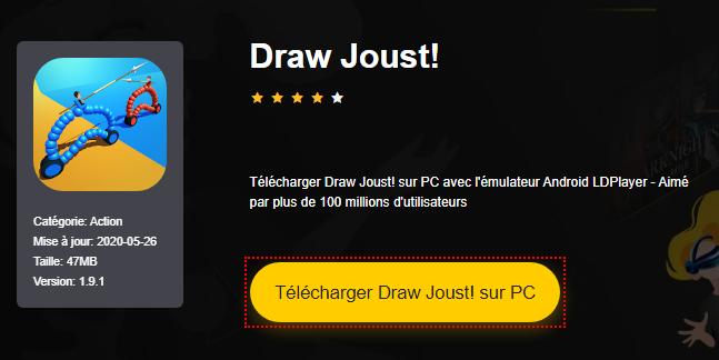 Installer Draw Joust! sur PC