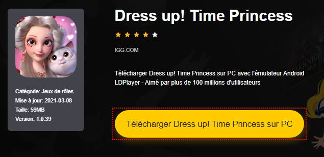 Installer Dress up! Time Princess sur PC