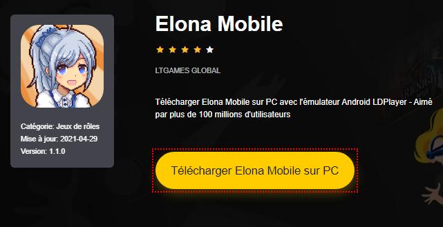 Installer Elona Mobile sur PC