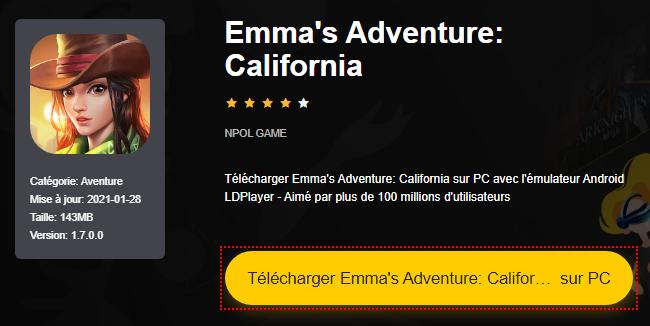 Installer Emma's Adventure: California sur PC