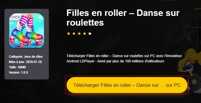 Installer Filles en roller – Danse sur roulettes sur PC