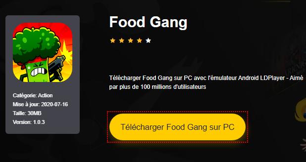 Installer Food Gang sur PC