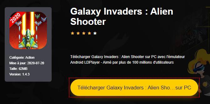 Installer Galaxy Invaders : Alien Shooter sur PC