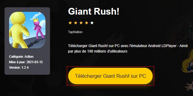 Installer Giant Rush! sur PC