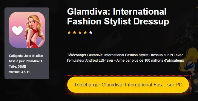 Installer Glamdiva: International Fashion Stylist Dressup sur PC