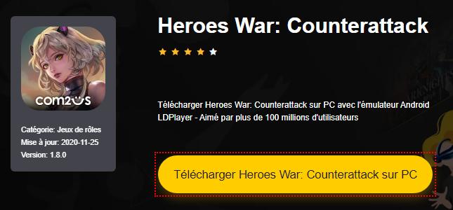 Installer Heroes War: Counterattack sur PC
