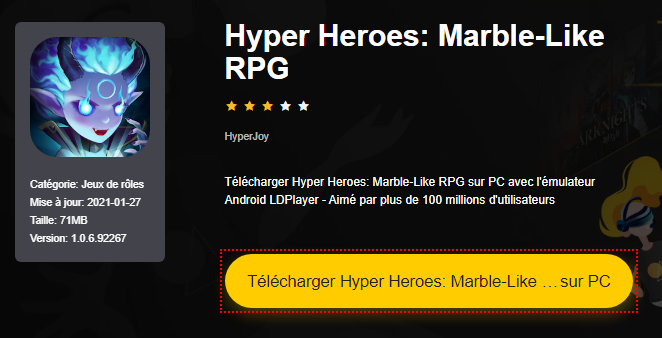 Installer Hyper Heroes: Marble-Like RPG sur PC