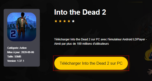 Installer Into the Dead 2 sur PC