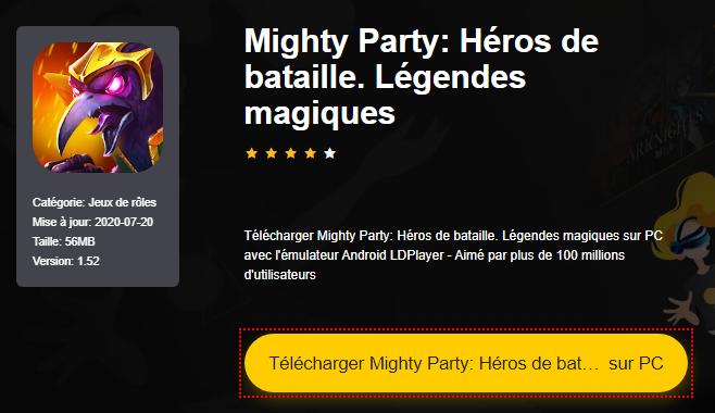 Installer Mighty Party: Héros de bataille. Légendes magiques sur PC