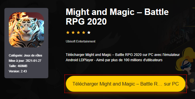 Installer Might and Magic – Battle RPG 2020 sur PC