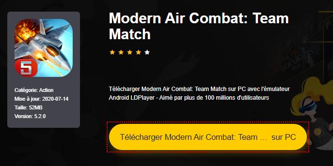 Installer Modern Air Combat: Team Match sur PC