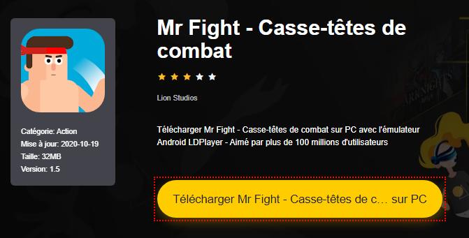 Installer Mr Fight - Casse-têtes de combat sur PC