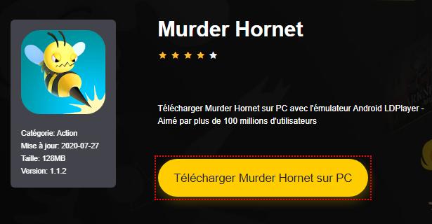 Installer Murder Hornet sur PC