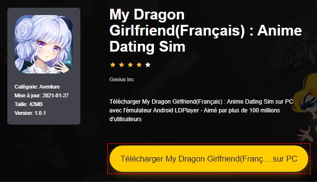 Installer My Dragon Girlfriend(Français) : Anime Dating Sim sur PC