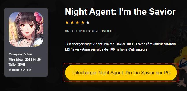 Installer Night Agent: I'm the Savior sur PC