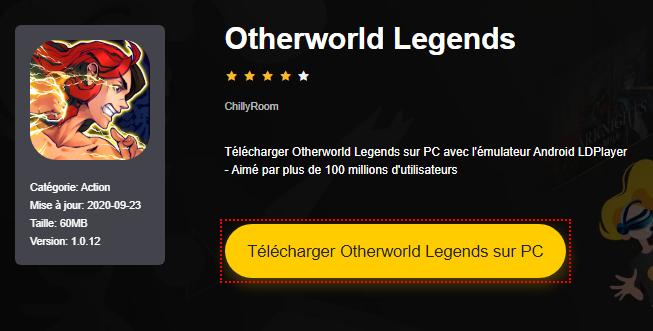 Installer Otherworld Legends sur PC