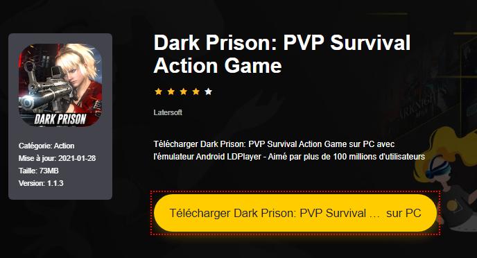 Installer Dark Prison: PVP Survival Action Game sur PC