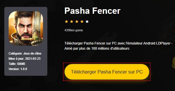 Installer Pasha Fencer sur PC