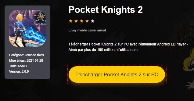 Installer Pocket Knights 2 sur PC