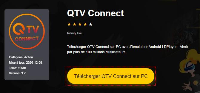 Installer QTV Connect sur PC