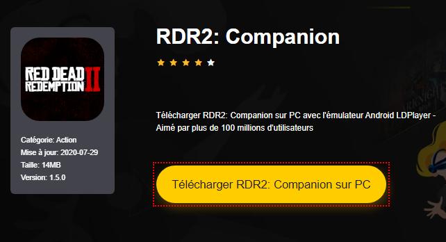 Installer RDR2: Companion sur PC