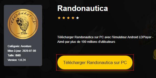 Installer Randonautica sur PC