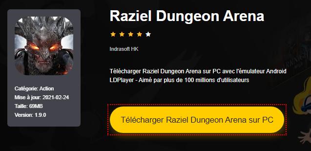 Installer Raziel Dungeon Arena sur PC