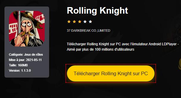 Installer Rolling Knight sur PC