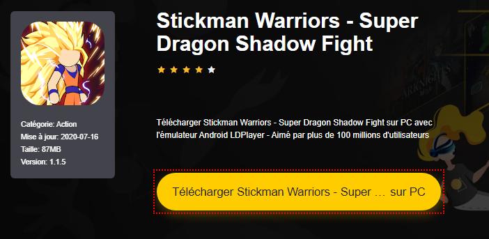 Installer Stickman Warriors - Super Dragon Shadow Fight sur PC