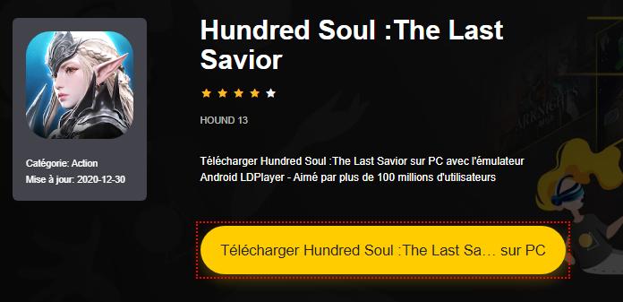 Installer Hundred Soul :The Last Savior sur PC